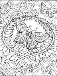 Kleurplaten Vlinders Topkleurplaat Nl Bloemen Kleurplaten Kleurplaten Mandala Kleurplaten