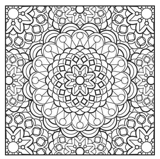 6 Mandalas Gratis Kleurplaten Mandala Kleurplaten Kleurplaten