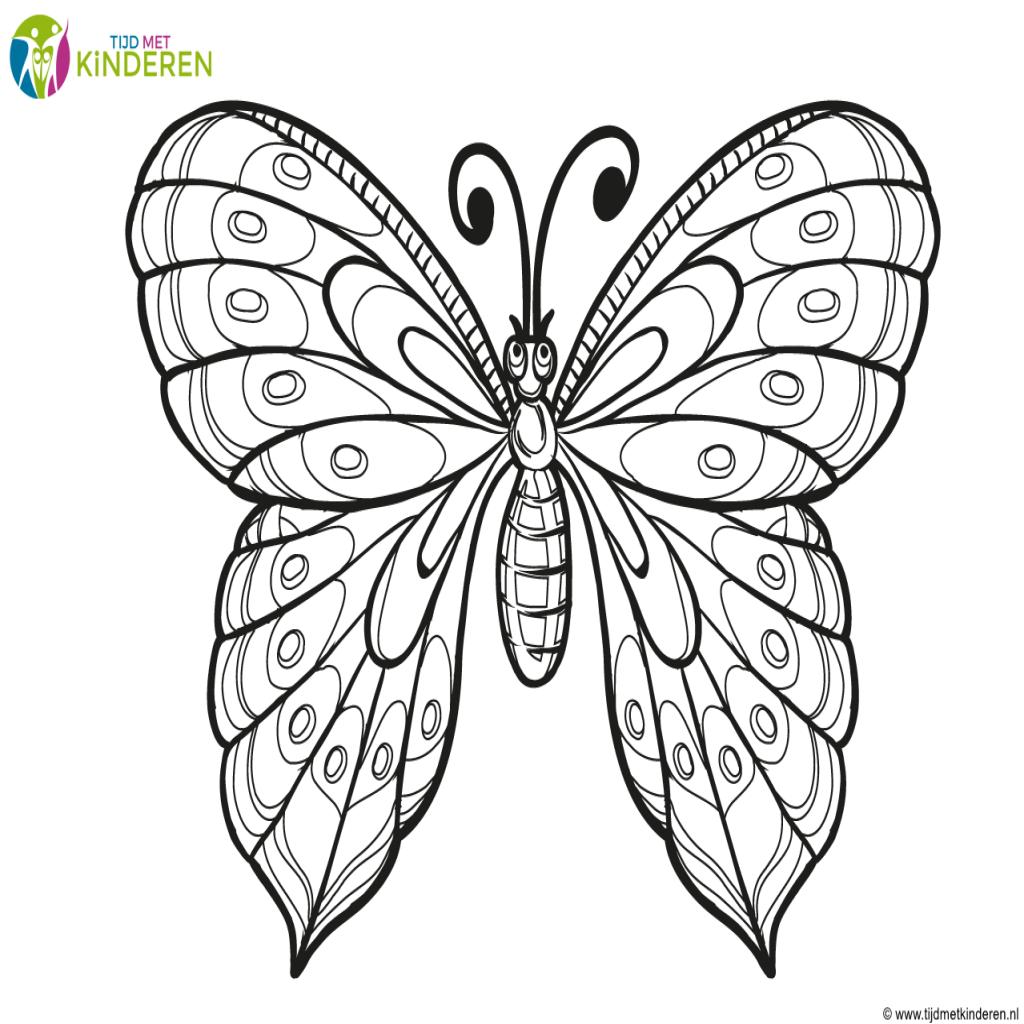 Vlinders Kleurplaat Vlinders En Bloemen Kleurplaten Lotusbloem Tatoeages Kleurplaten Voor Kinderen