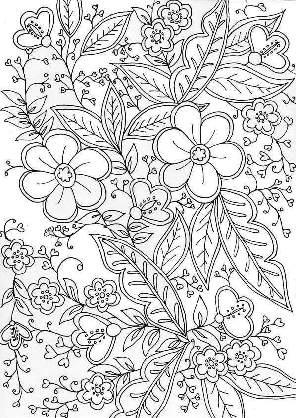 Kleurplaten En Zo Kleurplaat Van Handgemaakt Voor Volwassenen Cute Coloring Pages Mandala Coloring Pages Flower Coloring Pages