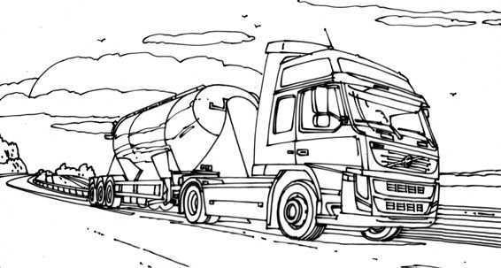 Kleurplaten Vrachtwagens Volvo Google Zoeken Kleurplaten Vrachtwagens Kleurpotloden