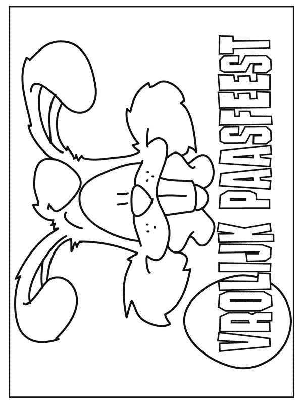 Kleurplaat Kleurplaat Pasen 9122 Knutselen Pasen Pasen Lenteknutsels