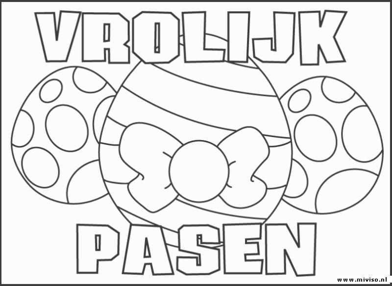 Een Leuke Kleurplaat Voor Pasen Kijk Op De Surfsleutel Voor De Printversie Pasen Knutselen Pasen Knutselen Voor Pasen