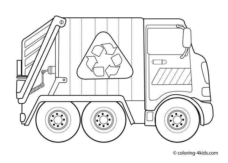Garbage Truck Coloring Pages For Kids Http Designkids Info Garbage Truck Coloring Pages For Truck Coloring Pages Garbage Truck Coloring Pages For Kids