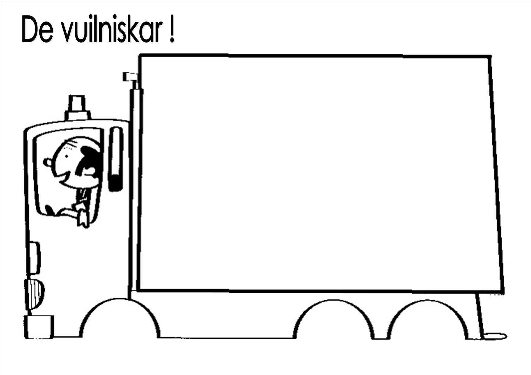 Pin Van Juf Lalalien Op Bc Afval Thema Recycleren Vuilniswagen