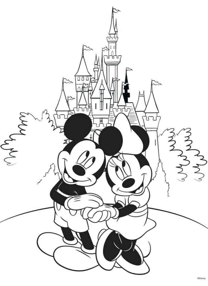 Coloring Pages Disney Castle In 2020 Disney Coloring Sheets Disney Coloring Pages Free Disney Coloring Pages