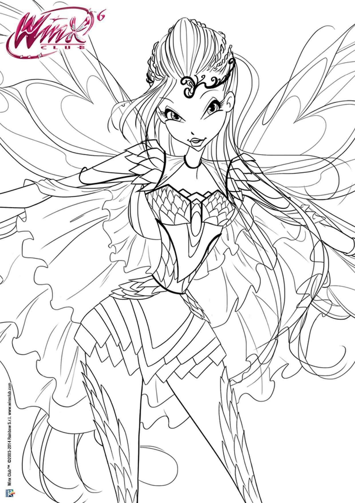 Winx Club Tumblr Cartoon Coloring Pages Coloring Pages Fairy Coloring Pages