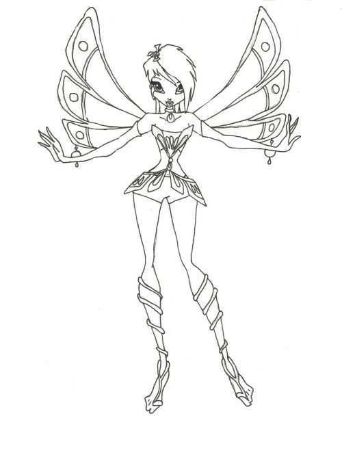 Winx Club Style Short Hair Coloring Pages Cartoon Coloring Pages Coloring Pages Fairy Coloring