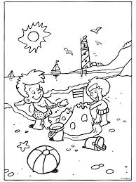 Image Result For Kleurplaat Strand En Zee Zomer Kleurplaten Kinderkleurplaten Zomer Werkbladen