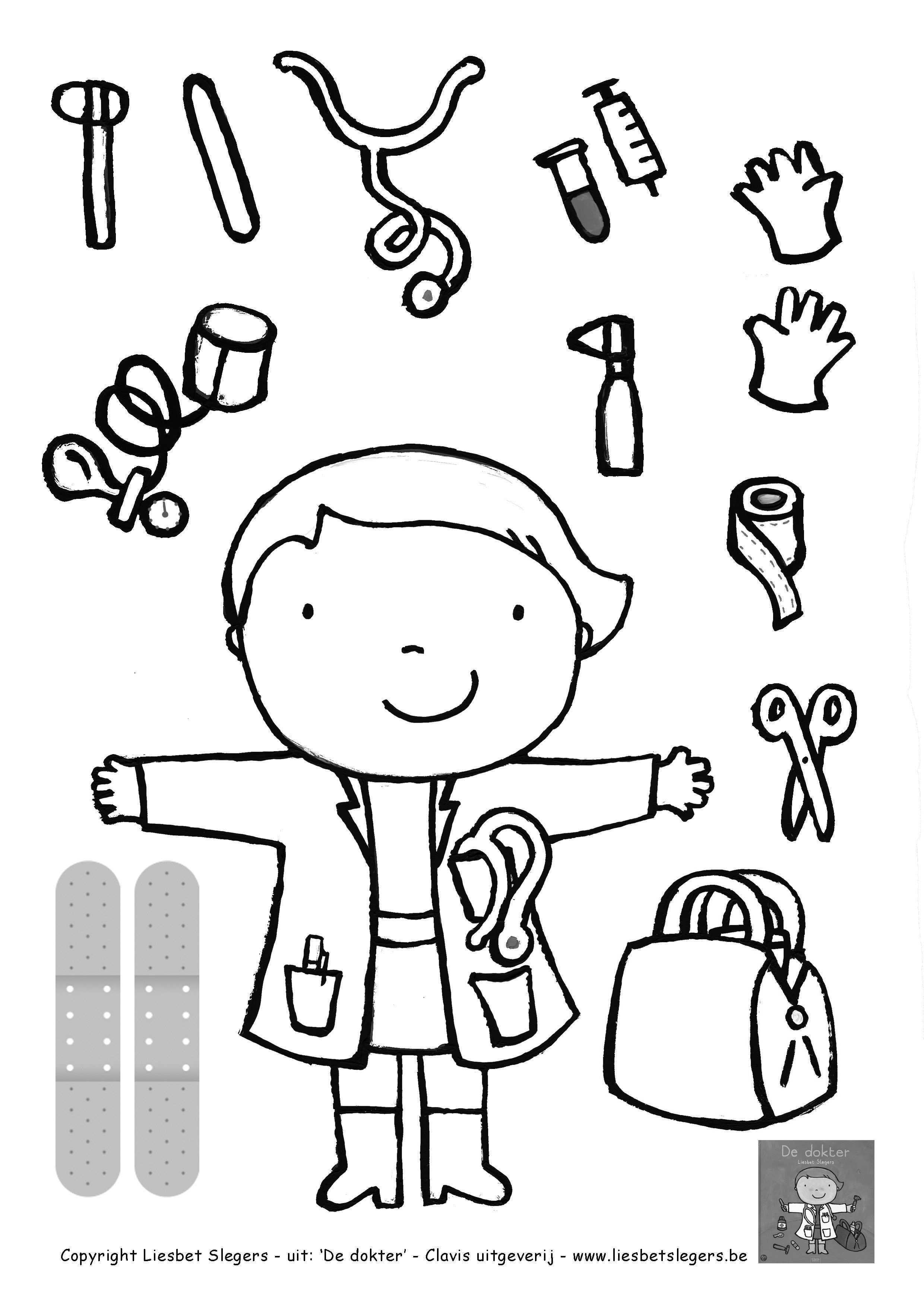 Kleurplaat Dokter Google Zoeken Kern 2 Vllezen Pinterest Idee Kleurplaat Ziek Zijn 20 Idee Kleurplaat Ziek Zi Thema Knutselen Thema Ziek Zijn Kleurplaten