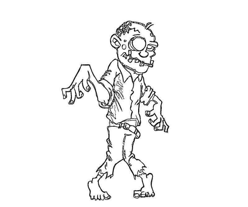 Zombie Color Pages Bunny Coloring Pages Zombie Disney Disney Coloring Pages