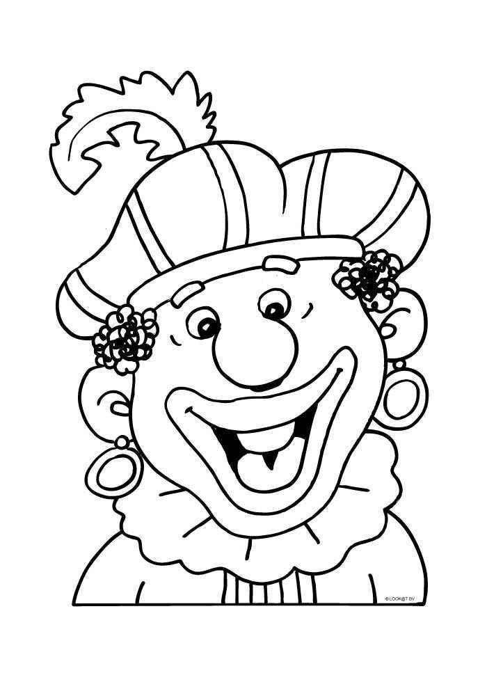 Zwarte Piet Bij Blij Sinterklaas Kleurplaten Kleurplaat Com Sinterklaas Zwarte Piet Knutselen Sinterklaas